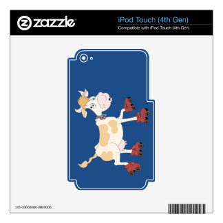Skate Thru Life Decals For iPod Touch 4G