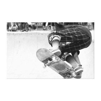 Skate Tricks Canvas Print