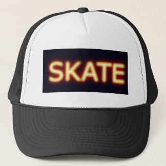 skate trucker hat