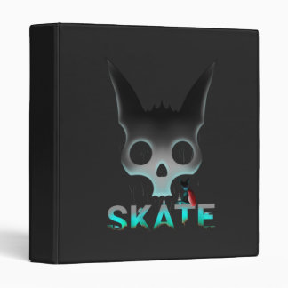 Skate Urban Graffiti Cool Cat 3 Ring Binder