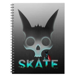 Skate Urban Graffiti Cool Cat Notebook