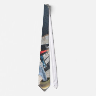 Skate Wheel Neck Tie