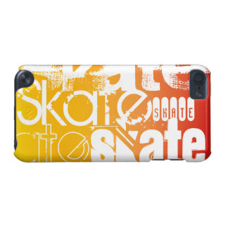 Skate; Yellow Orange Gradient iPod Touch 5G Case