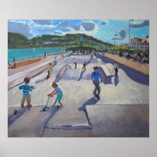 Skateboaders Teignmouth 2012 Poster