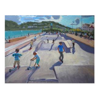 Skateboaders Teignmouth 2012 Postal