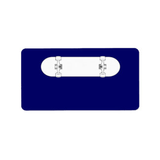 Skateboard 2 label