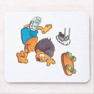 Skateboard #5 mouse pad
