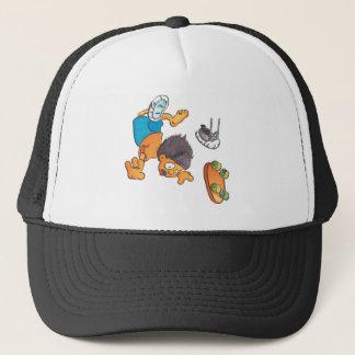 Skateboard #5 trucker hat