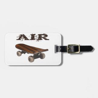 Skateboard Air teen kids men skateboarder Tags For Bags
