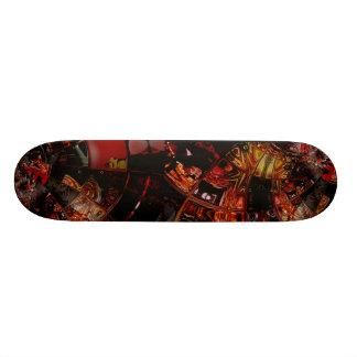 Skateboard Art Inside The Bowl 2