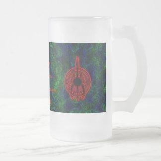 skateboard bg, mark1, diablounderwrld.deviantar... frosted glass beer mug