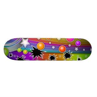 Skateboard -BIG BANG BLACK HOLES POP ART