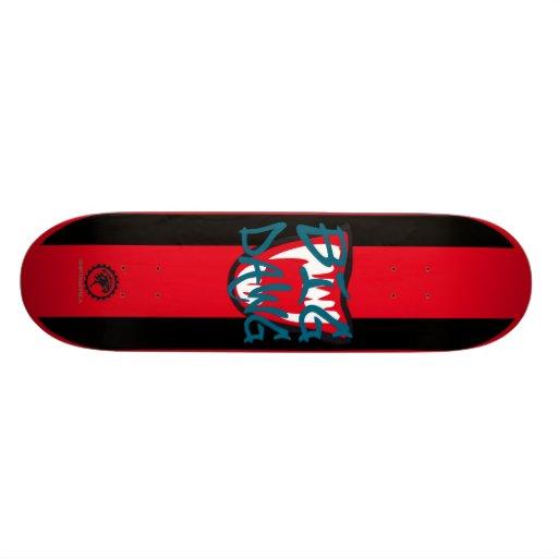 SKATEBOARD BIG DAWG by SHIRTAMERICA Personalisierte Skateboards