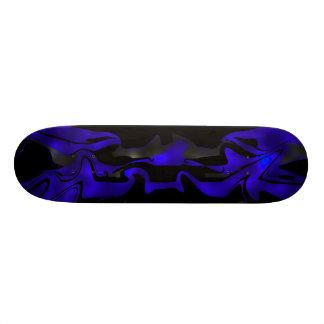 Skateboard Blue Glow
