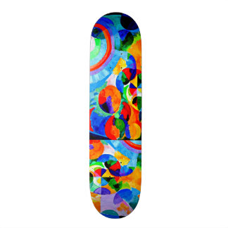 Skateboard-Classic/Vintage-Robert Delaunay 3 Skateboard