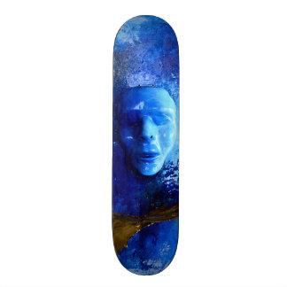 Skateboard Collection - Blue Mask Skateboard