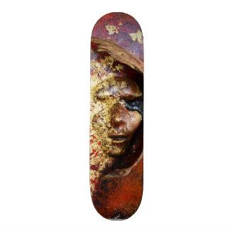 Skateboard Collection - Red/ Gold Mask Skateboard