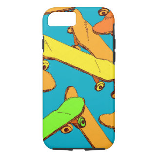 Skateboard Cool Pattern vectors iPhone 8/7 Case