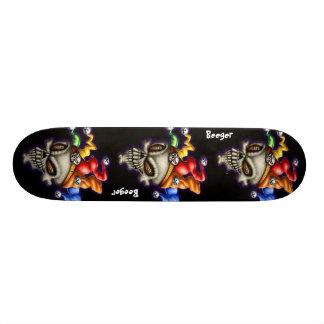 Skateboard -  Court Jester Skull