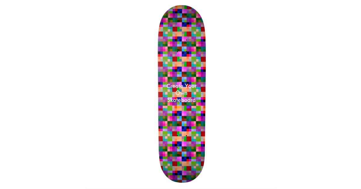 Make Your Own Skateboard Deck Design