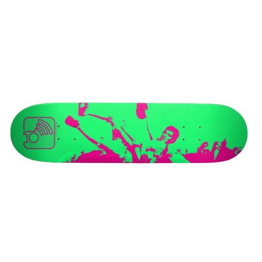 Skateboard Crowd Surf w/ Avatar Logo