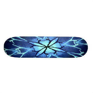"Skateboard ""Dancer (Aqua)"""