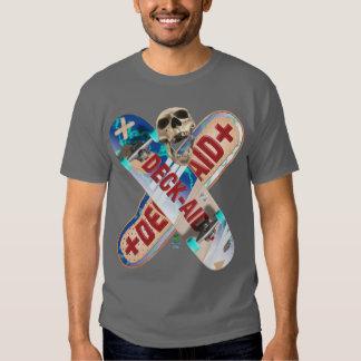 Skateboard Deck Aid T Shirt