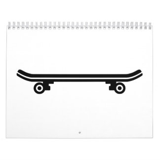 Skateboard deck calendar