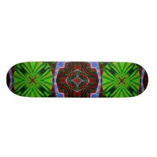 Skateboard Deck Design: Cleo 7