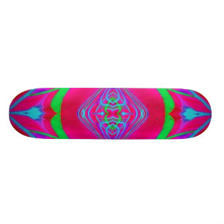 Skateboard Deck Design: Scan Weed.Quad.Red.165