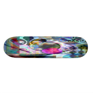 Skateboard Deck Graphics: Digital Artwork