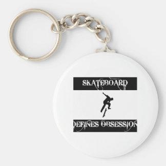 skateboard design key chain