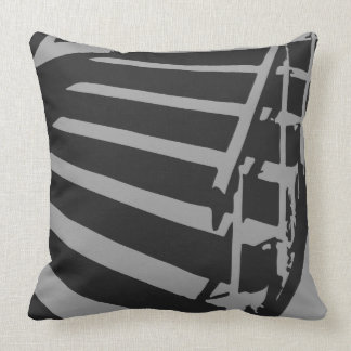 Skateboard Down Stairs Six Charcoal Combo Pillows