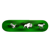 Skateboard (Eagle,Buffalo,Horse)