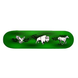 Skateboard (Eagle,Buffalo,Horse)