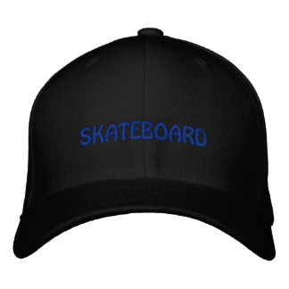 SKATEBOARD EMBROIDERED BASEBALL HAT