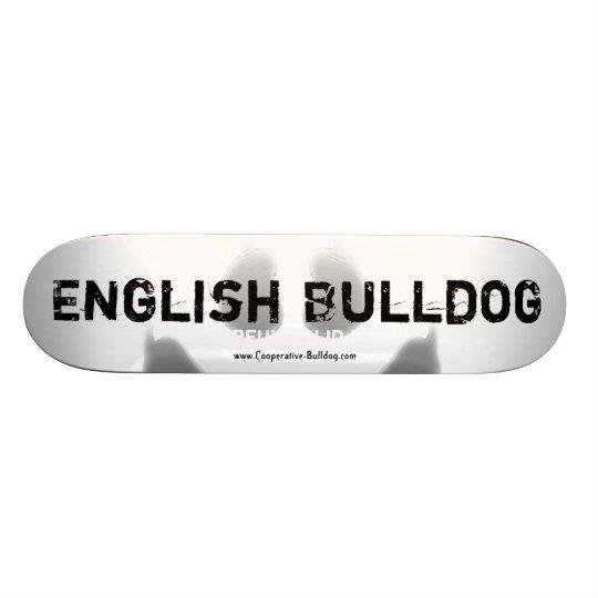 Skateboard English Bulldog