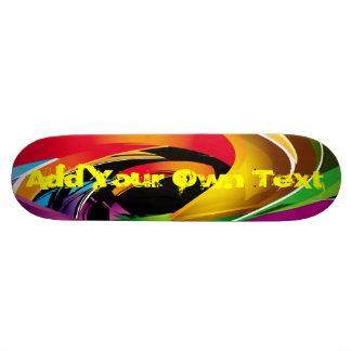 skateboard fancy design