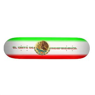 Skateboard-Fiesta-set-2-Flag Skateboard Deck