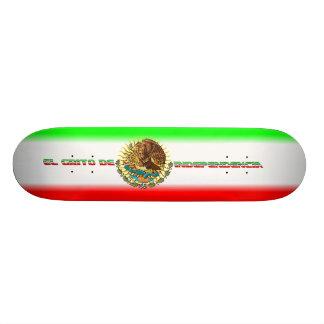 Skateboard-Fiesta-set-2-Flag Skateboard Deck