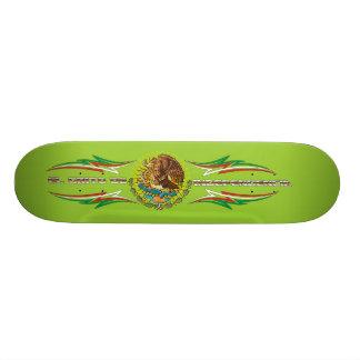 Skateboard-Fiesta-set-2-green Skateboard Deck