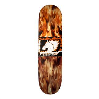 """# skateboard fire """"Skater Spirit """""""