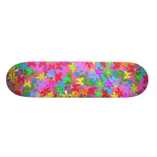 Skateboard Flowers Galore Skate Boards