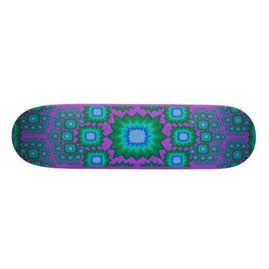 Skateboard: Fractal Explosion: Design #1 Skateboard Deck