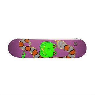 Skateboard - frog, snake, bug, lizard