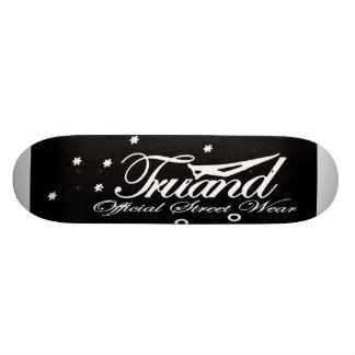 Skateboard GANGSTER Official Street Wear Black