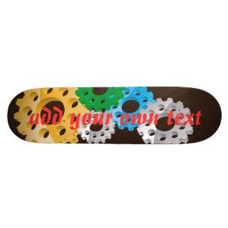 skateboard - gears