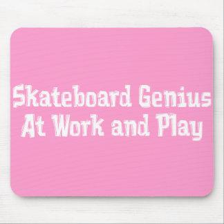 Skateboard Genius Gifts Mouse Mat