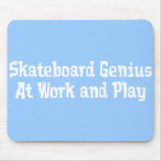 Skateboard Genius Gifts Mouse Pads