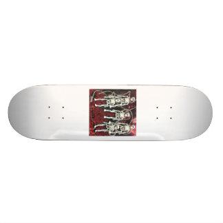 Skateboard - Gothic Skeletons